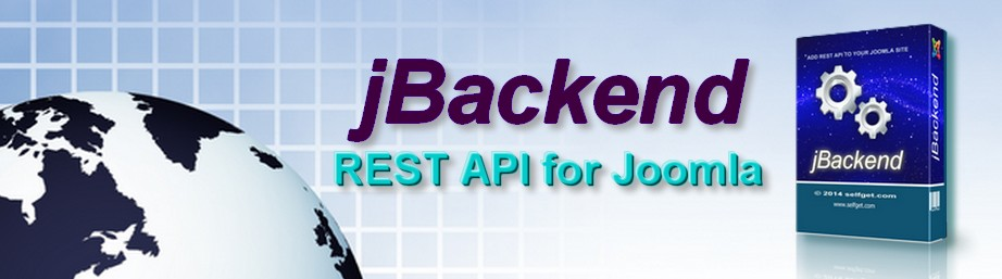 jBackend adds REST API to Joomla